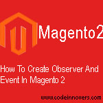 how to create custom event in magenot 2