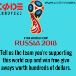 Fifa World Cup 2018 Giveaways by CodeInnovers
