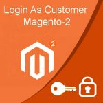 login as customer Magento2