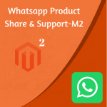WhatsApp Product Share & Support Extension