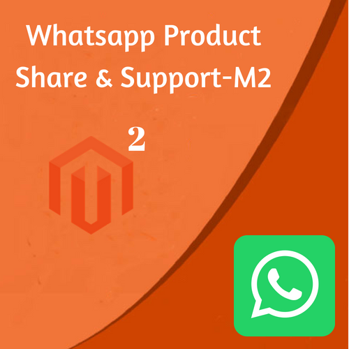 whatsApp Product Share & Support Extension For Magento-2