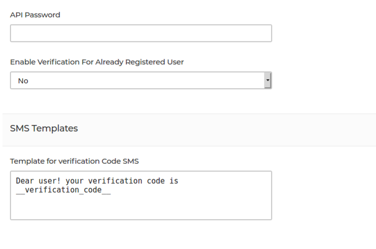 OTP Verification and phone Login Extension bagisto